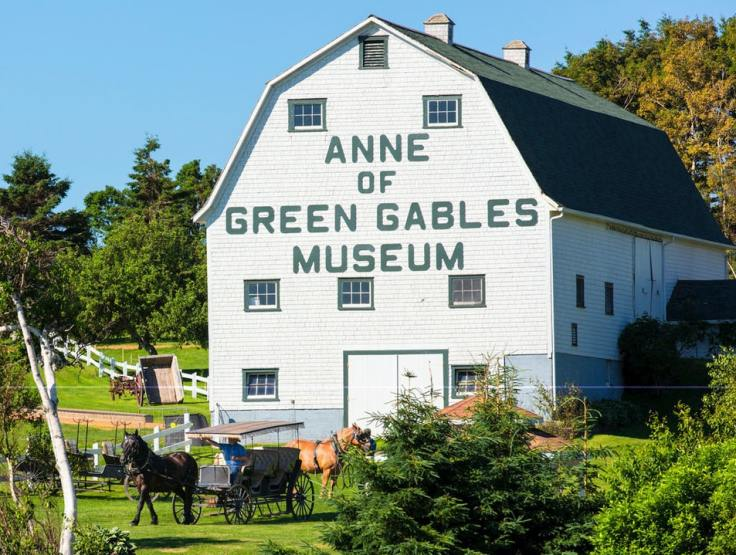Anne of Green Gables House on PEI exterior