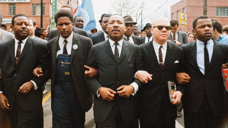 Martin Luther King Jr marching