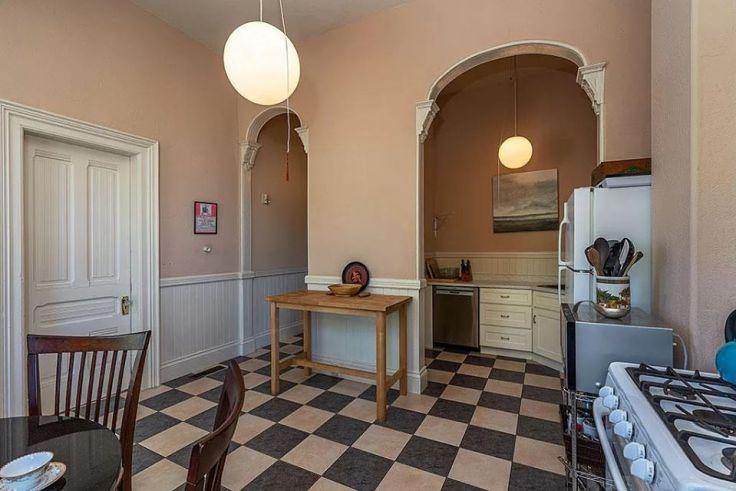 Victorian house kitchen