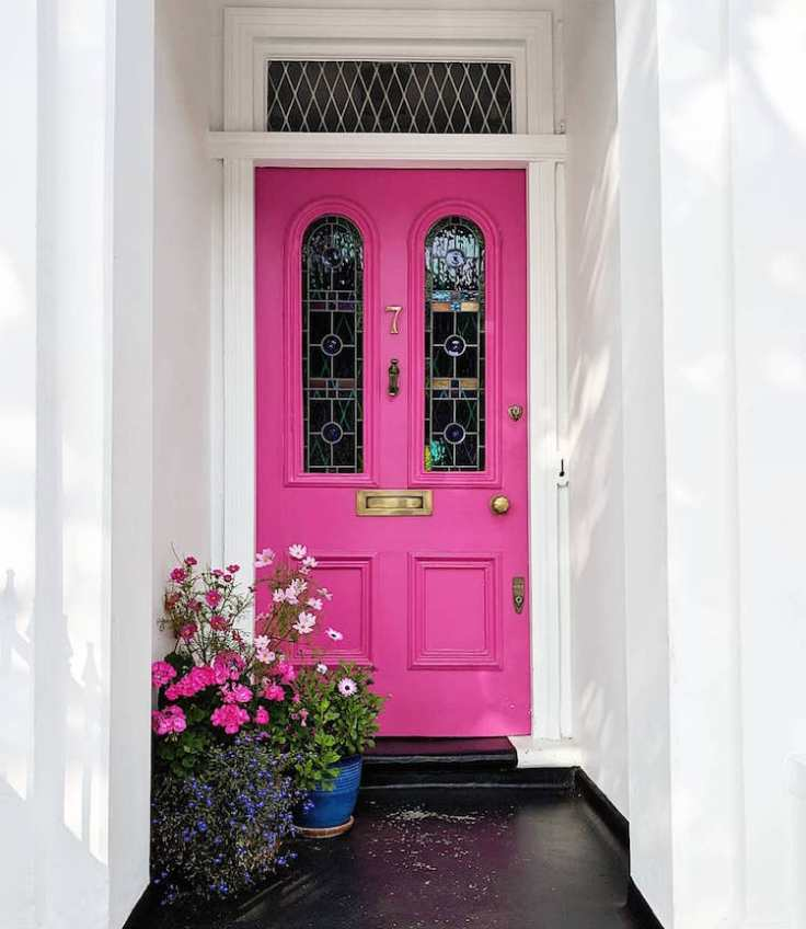 The charming doors of London