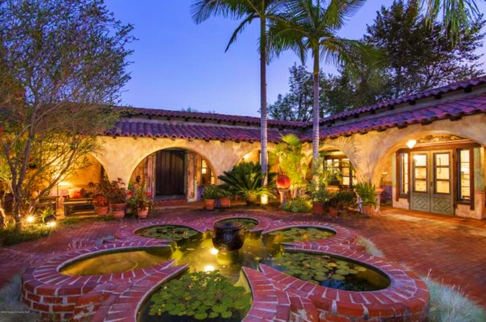 Buy an historic California mission style house