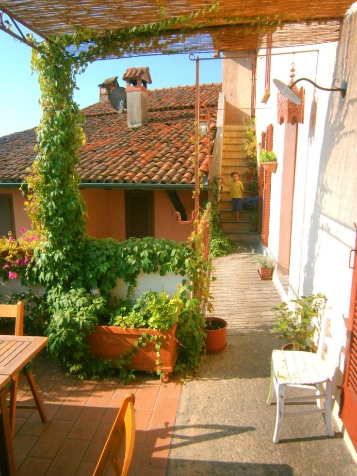Italian house house on Lake Maggiore