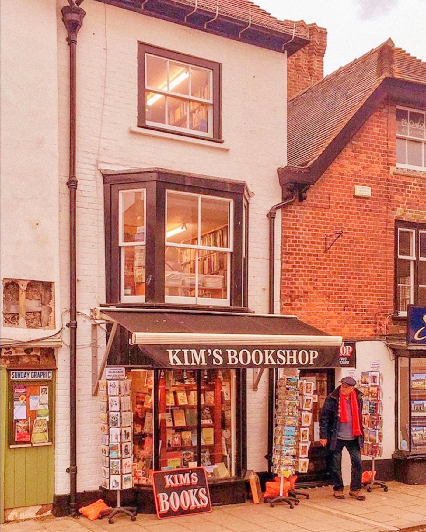 Kim's Bookshop in England