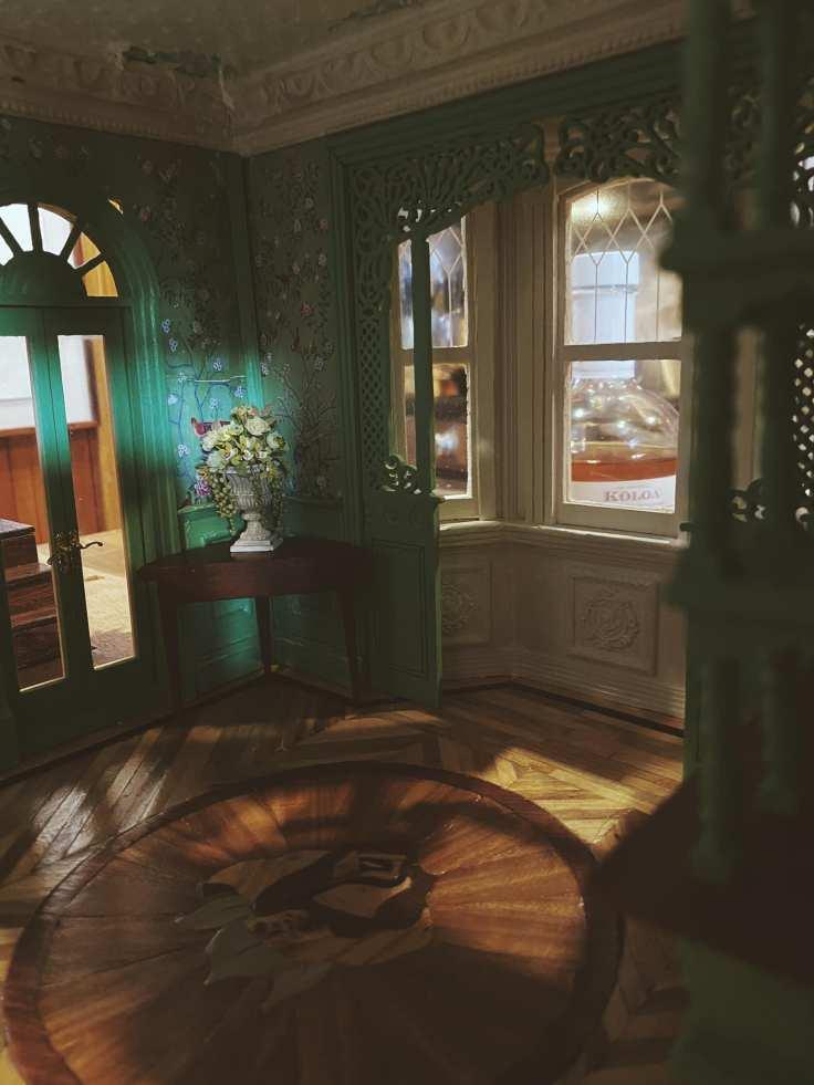 Lauren P. Dodge Miniature Gothic House artist