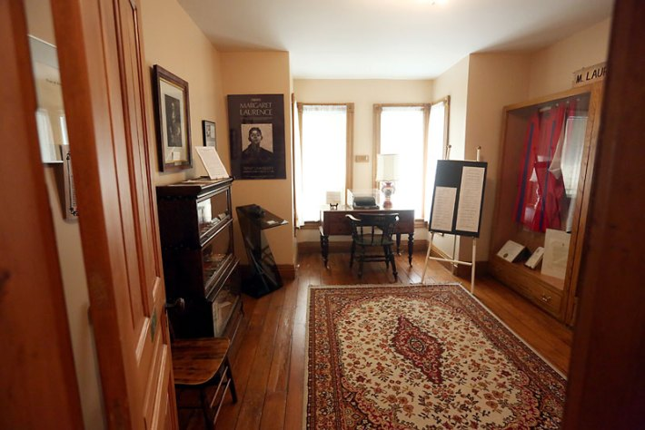 Margaret-Laurence-house-in-Neepawa-Manitoba-inside