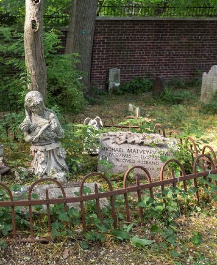 backyard cemetery