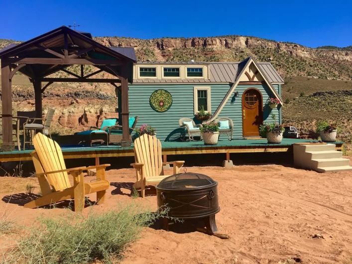 Mother Eve Fairytale Tiny House Zion National Park