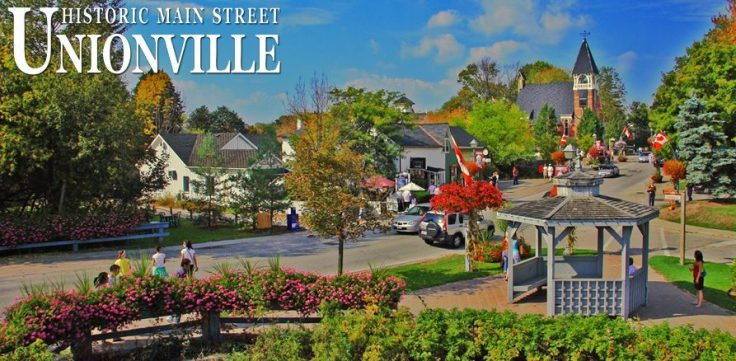 Unionville Ontario Schitt's Creek filming location