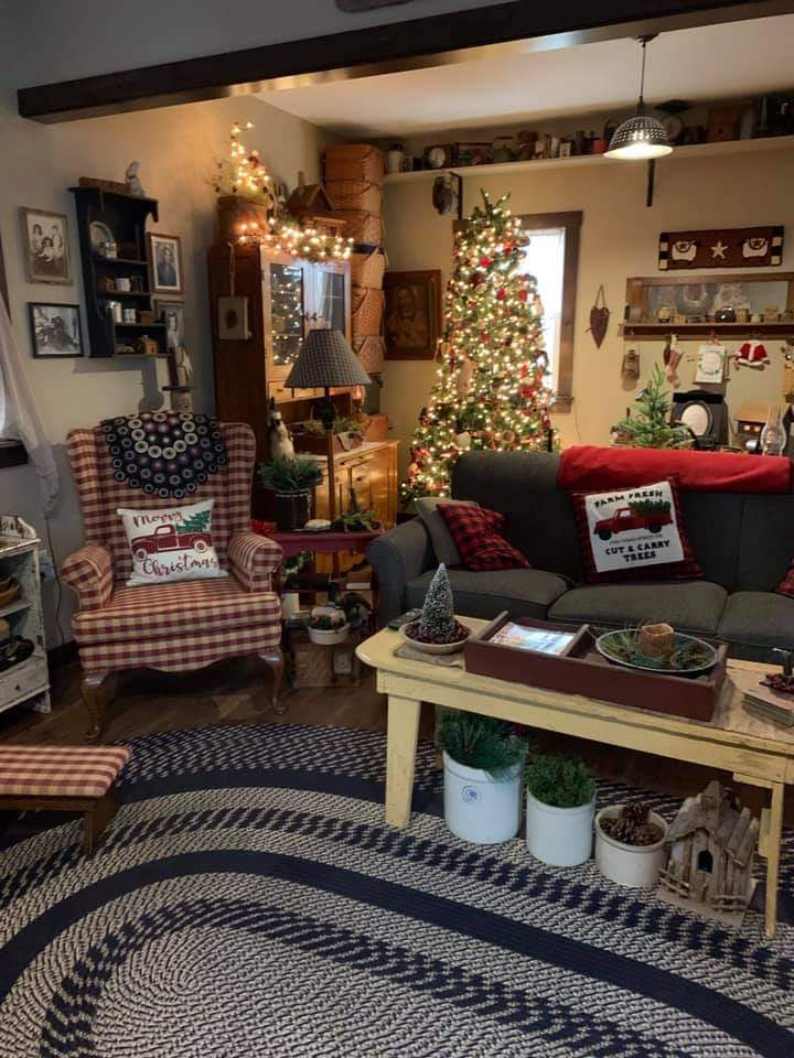 cozy Christmas interiors