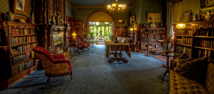 inside Mark Twain's Connecticut home