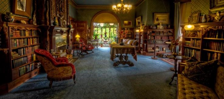 inside Mark Twain's Connecticut home