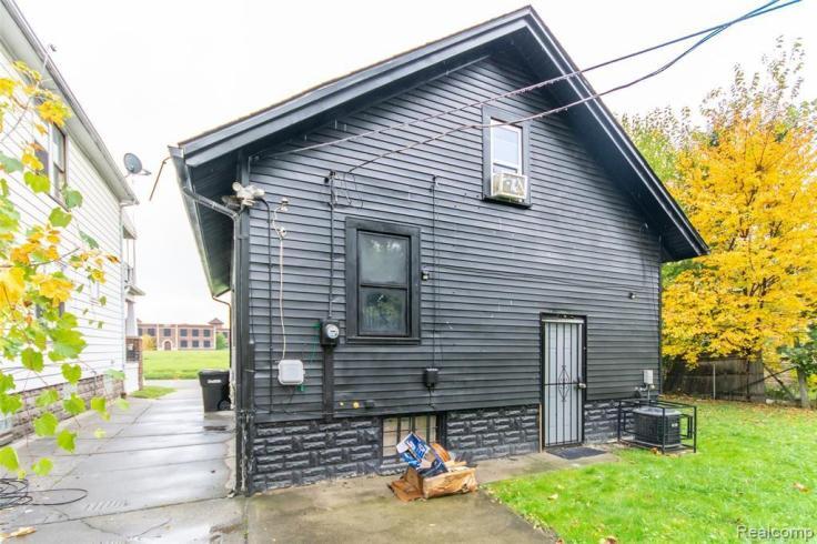 depressing all grey house exterior