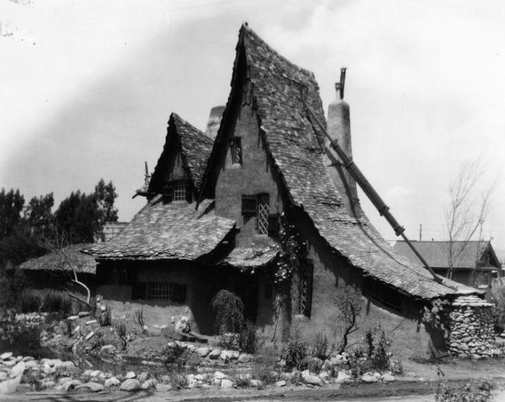 Spadena Witch House in California