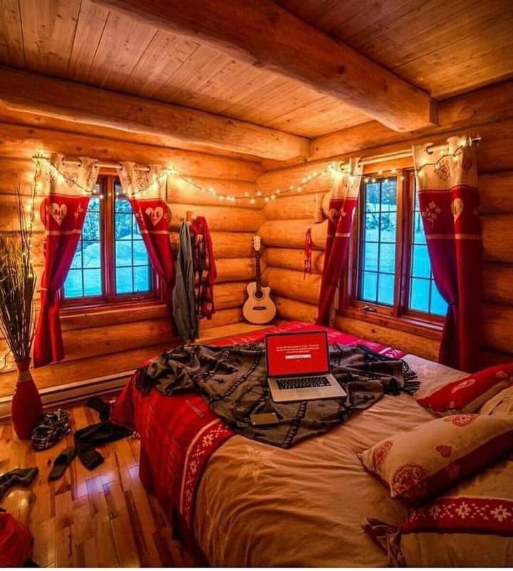 cozy Christmas décor
