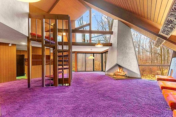 Indiana 1970's time capsule house