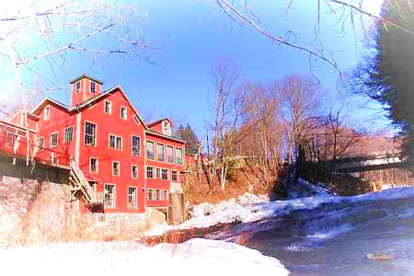 The Montague Bookmill in Massachusetts