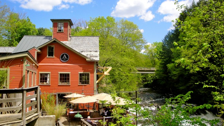 Montague Bookmill book store in Massachusetts