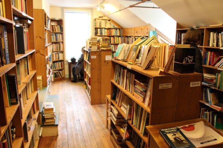 Montague Bookmill bookstore in Massachusetts