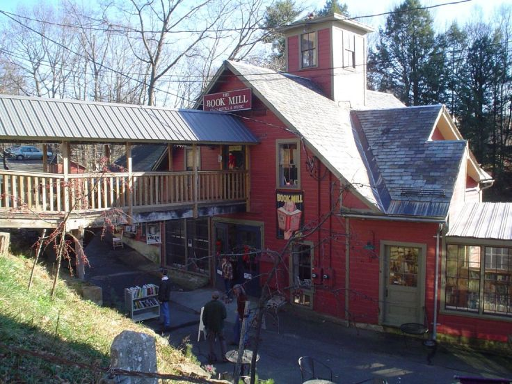 Montague Bookmill bookstore in Massachusetts