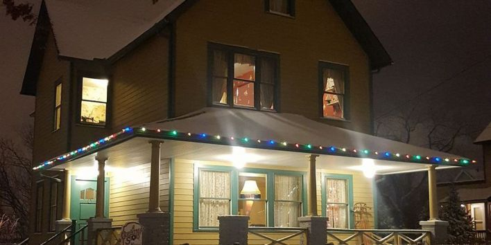 The real life house from A Christmas Story movie