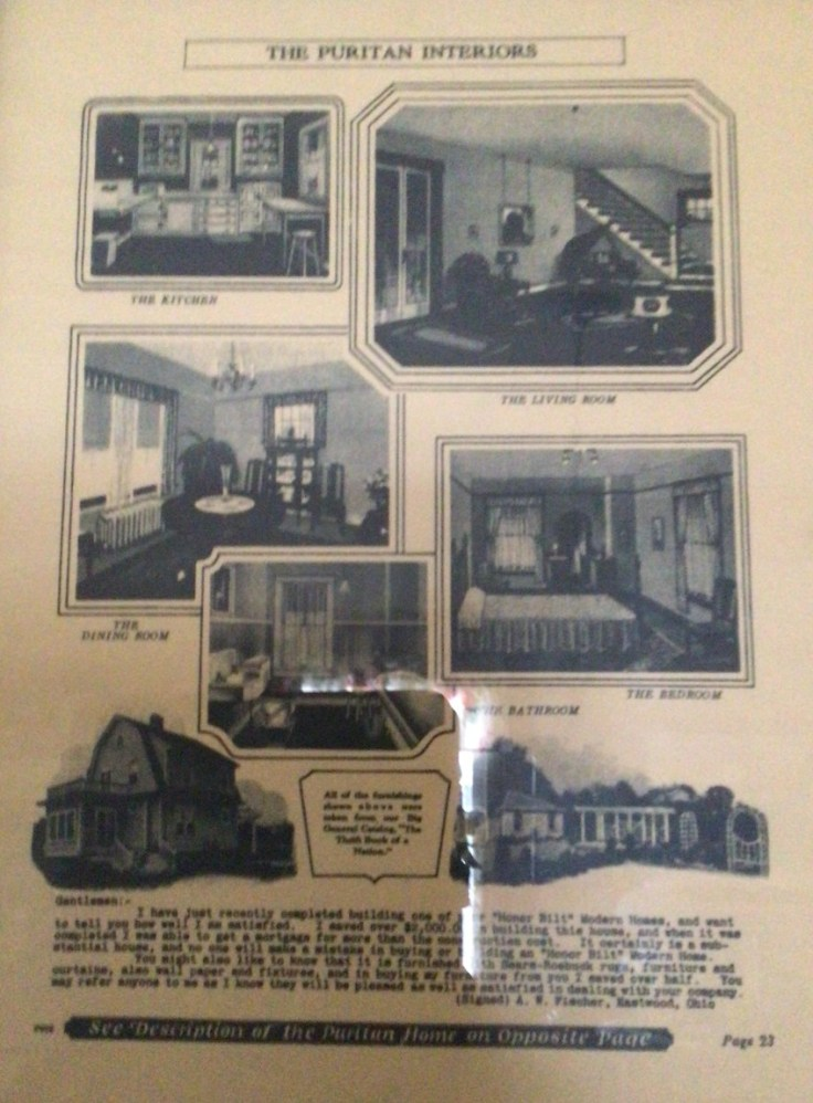 1921 Sear kit home