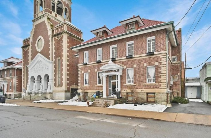 Former Nuns' Convent in Pennsylvania converted to a business and home