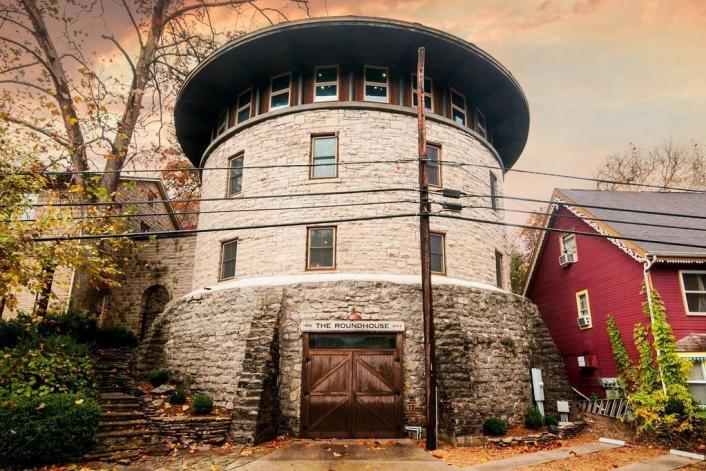 The Roundhouse in Eureka Springs Arkansas for sale