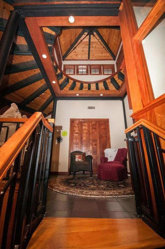 the historic roundhouse in Eureka Springs Arkansas for sale