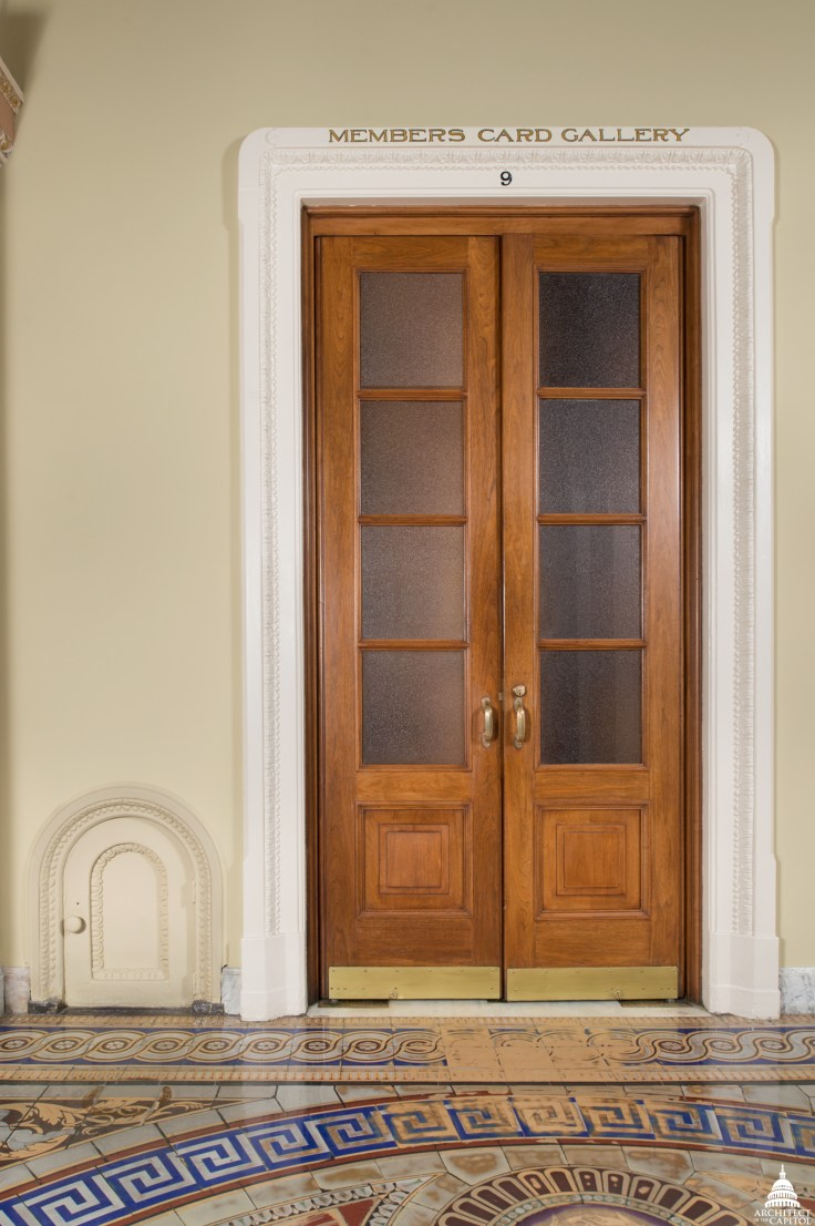 tiny doors in the US Capitol