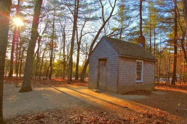 Henry David Thoreau's cabin on Walden Pond