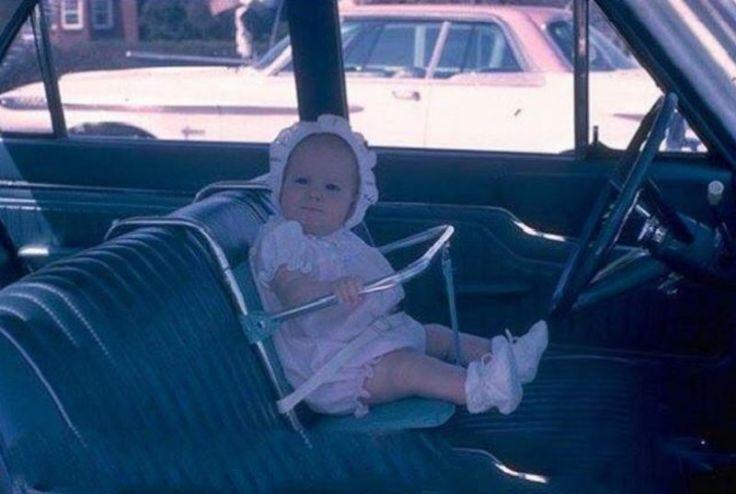 vintage baby car seats