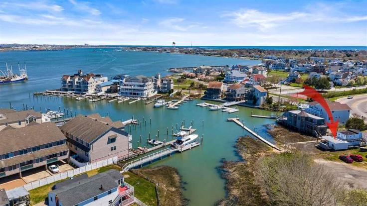 Tug boat house in Cape May New Jersey