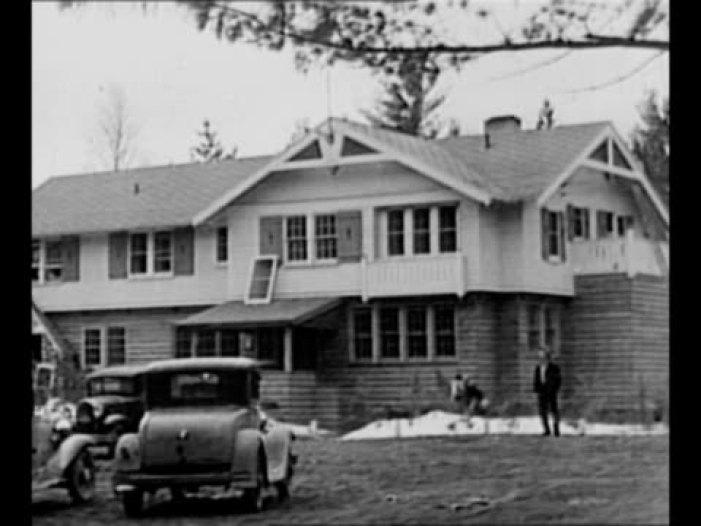 historic photo of Little Bohemia Lodge