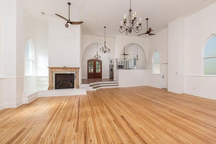 historic church converted to home