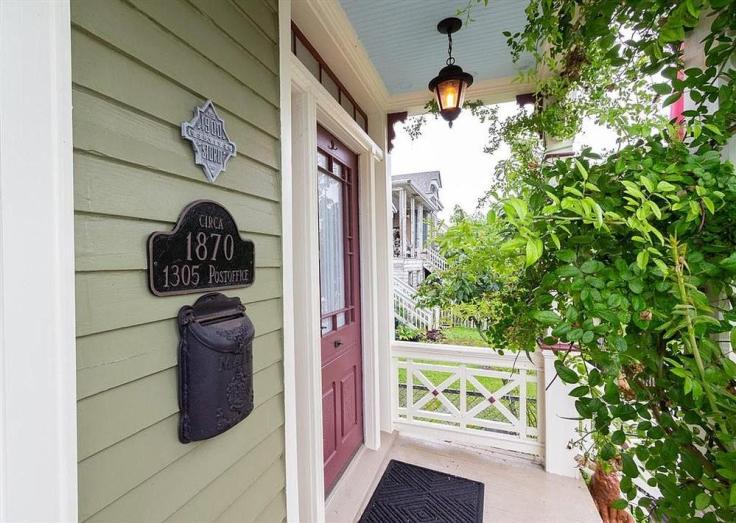 Galveston Texas 1900 Storm old house survivor hous