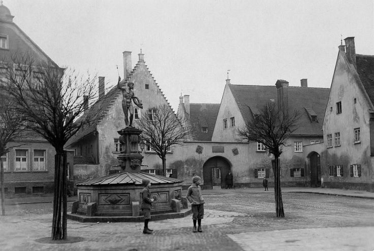 The Fuggerei is the world's oldest social housing complex still in use in Augsburg, Bavaria
