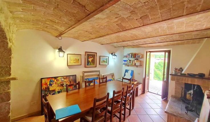 Restored Italian village house
