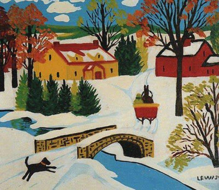 Maud Lewis painting