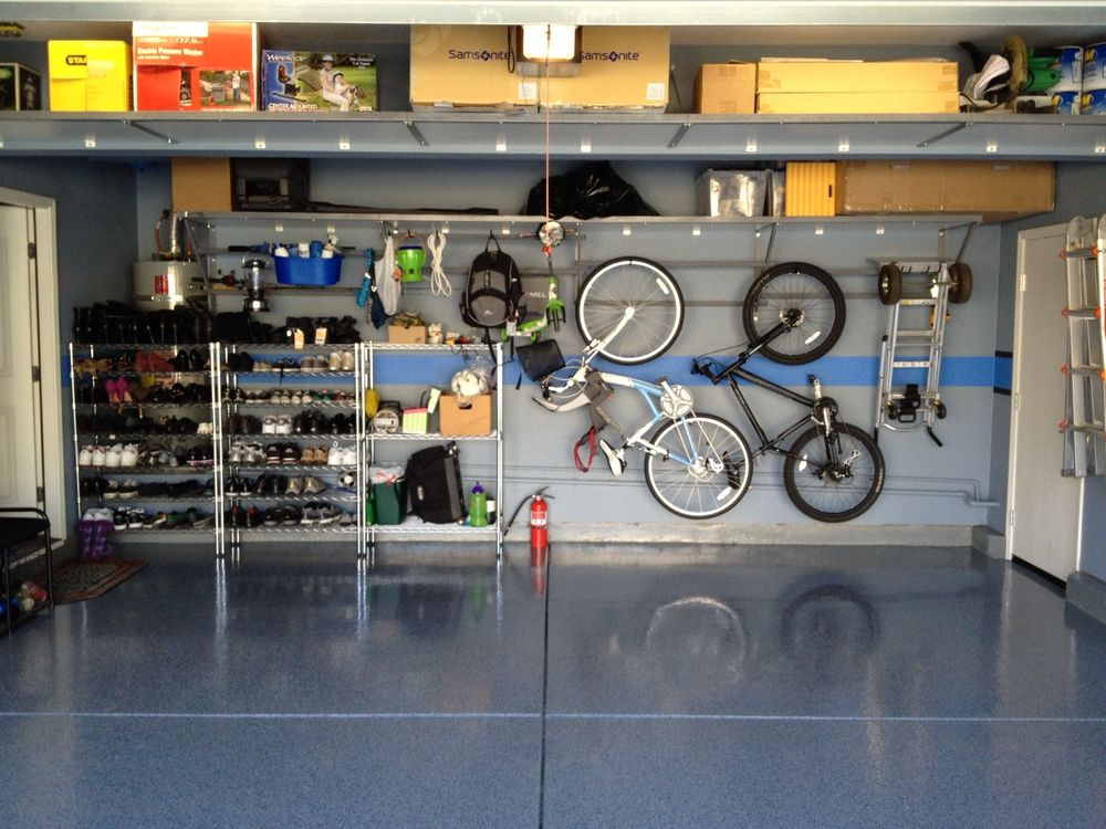 Three Garage Storage Ideas For Big Family