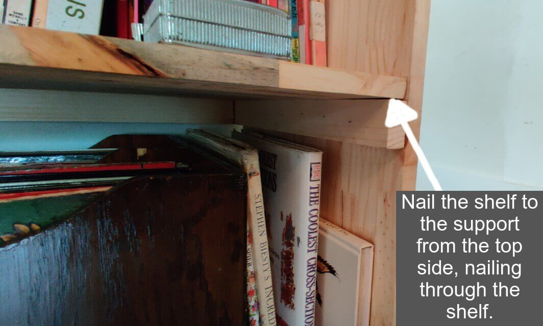 How to Build a Bookshelf - Step 5