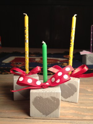 2x2 candles