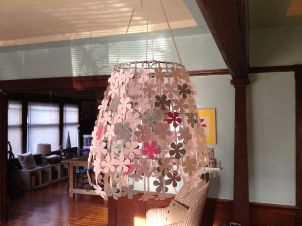 Paper Flower Lampshade