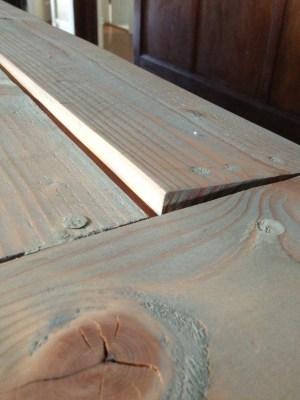 De-warping Wood