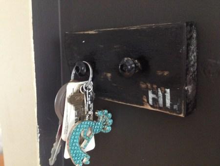 DIY Key Hook || House. Food. Baby.