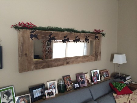 Reindeer Garland || House. Food. Baby.