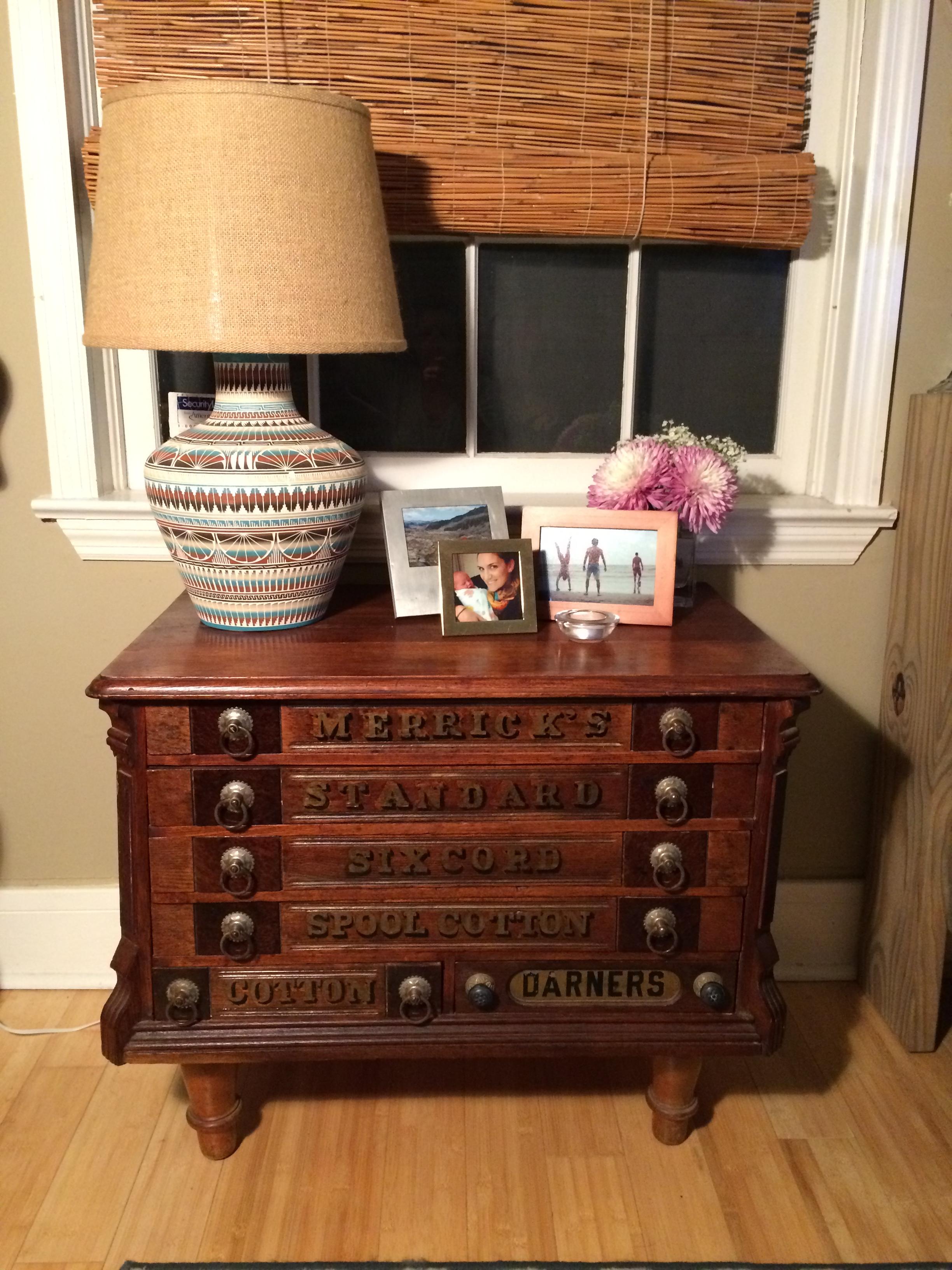 Merrick's Spool Cabinet Revival