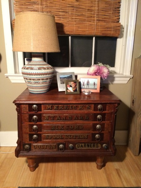 Merrick's Antique Spool Cabinet Revival || House. Food. Baby.