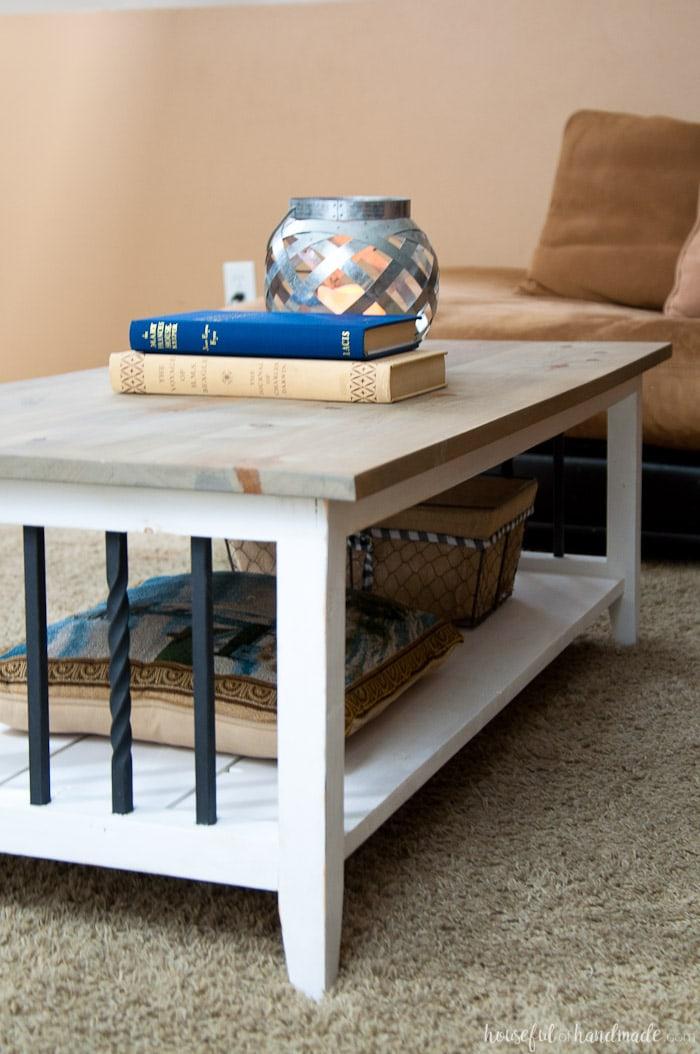Farmhouse Coffee Table Build Plans - Houseful of Handmade on Coffee Table Plans  id=67262