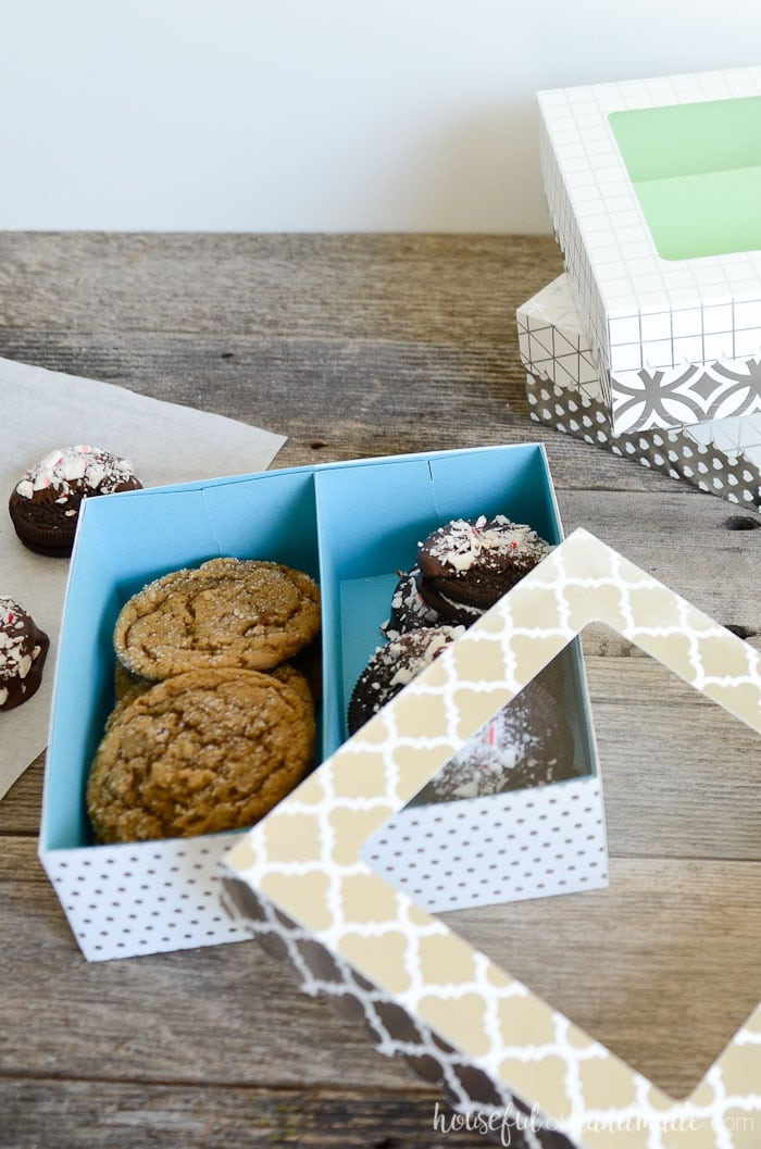 Easy Cookie Gift Boxes DIY Houseful Of Handmade