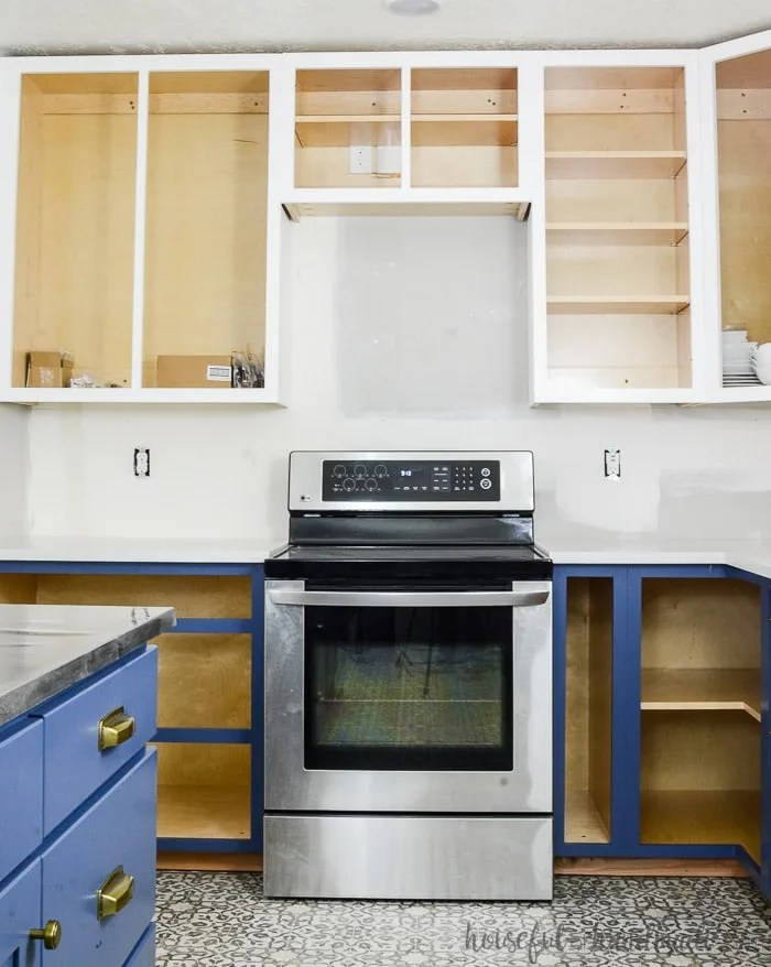 how to build base cabinets houseful